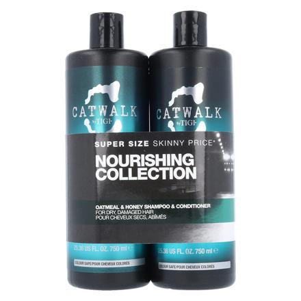 Tigi Catwalk Oatmeal & Honey sada šampon 750 ml + kondicionér 750 ml pro ženy