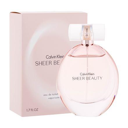 Calvin Klein Sheer Beauty toaletní voda 50 ml pro ženy