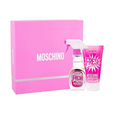Moschino Fresh Couture Pink sada toaletní voda 30 ml + tělové mléko 50 ml pro ženy
