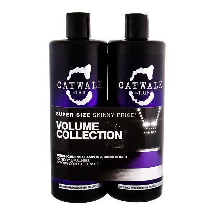 Tigi Catwalk Your Highness sada šampon 750 ml + kondicionér 750 ml pro ženy