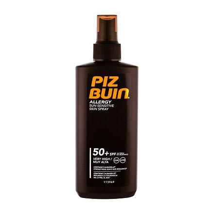 PIZ BUIN Allergy Sun Sensitive Skin Spray opalovací sprej pro citlivou pokožku SPF50 200 ml pro ženy