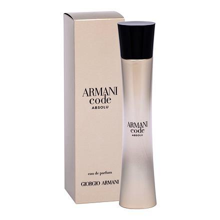 Giorgio Armani Code Absolu parfémovaná voda 75 ml pro ženy