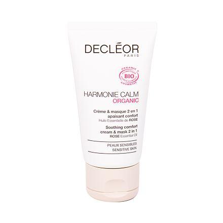 Decleor Harmonie Calm Organic zklidňující pleťový krém a maska 2 v 1 50 ml pro ženy