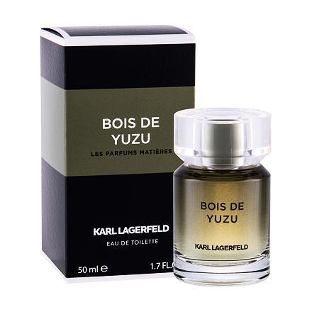 Karl Lagerfeld Les Parfums Matières Bois de Yuzu toaletní voda 50 ml pro muže