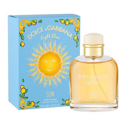 Dolce&Gabbana Light Blue Sun Pour Homme toaletní voda 125 ml pro muže