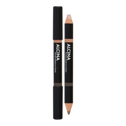 ALCINA Perfect Eyebrow oboustranná tužka na obočí 3 g odstín 010 Light pro ženy