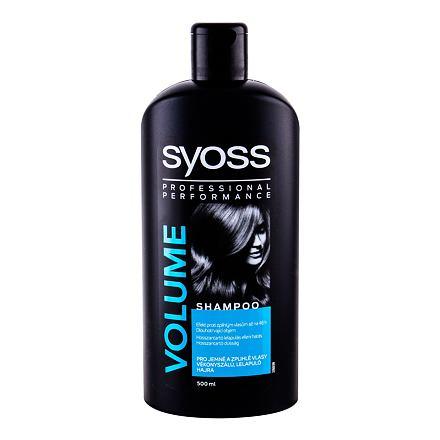 Syoss Professional Performance Volume šampon pro jemné a zplihlé vlasy 500 ml pro ženy