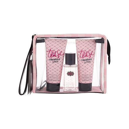 Victoria´s Secret Tease sada vyživující tělový spray 75 ml + tělové mléko 100 ml + sprchový gel 100