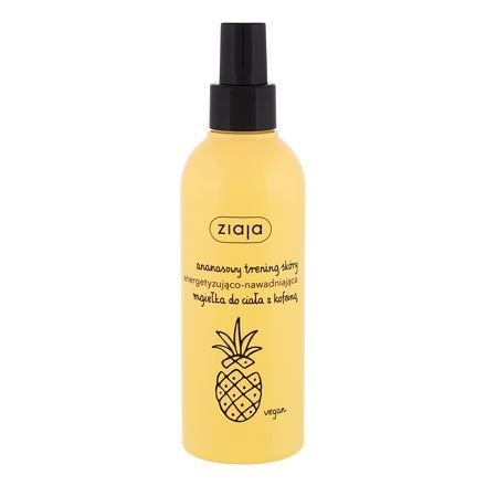 Ziaja Pineapple osvěžující a hydratační tělový sprej 200 ml pro ženy