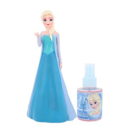 Disney Frozen Elsa sada toaletní voda 100 ml + 3D figurka pro děti