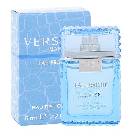 Versace Man Eau Fraiche toaletní voda 5 ml miniatura pro muže