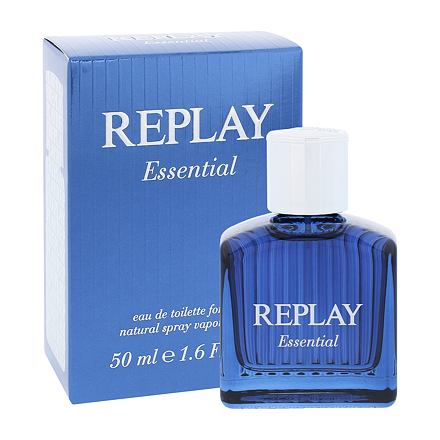 Replay Essential For Him toaletní voda 50 ml pro muže