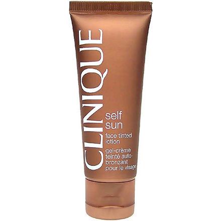 Clinique Self Sun Face Tinted Lotion samoopalovací mléko na obličej 50 ml pro ženy