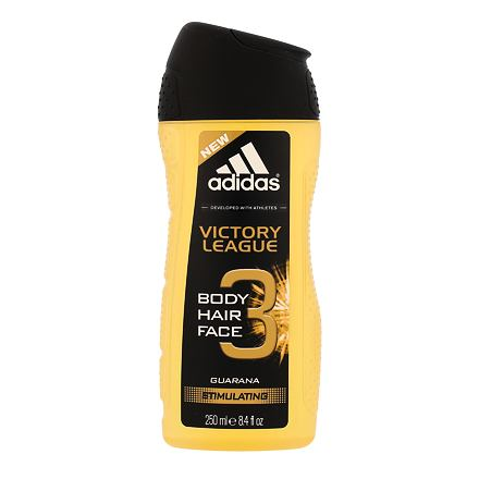 Adidas Victory League 3in1 sprchový gel 250 ml pro muže