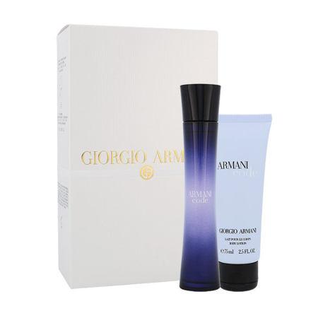 Giorgio Armani Armani Code Women sada parfémovaná voda 75 ml + tělové mléko 75 ml pro ženy