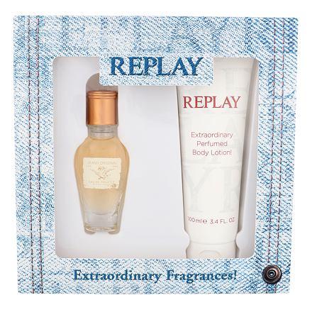 Replay Jeans Original! For Her sada toaletní voda 20 ml + tělové mléko 100 ml pro ženy