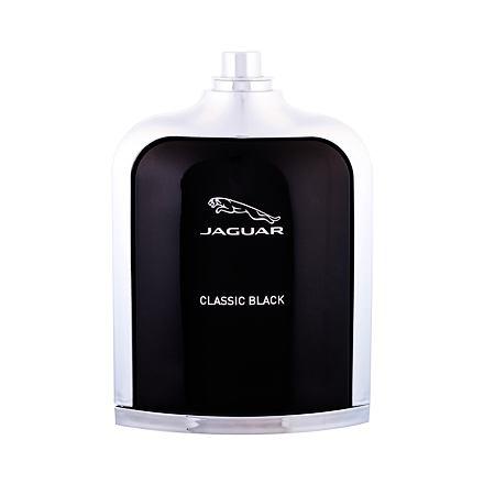Jaguar Classic Black toaletní voda 100 ml Tester pro muže