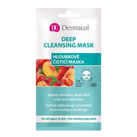 Dermacol Deep Cleansing Mask pleťová maska pro všechny typy pleti 15 ml pro ženy