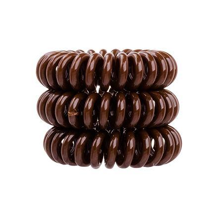 Invisibobble The Traceless Hair Ring gumička na vlasy 3 ks odstín Pretzel Brown pro ženy