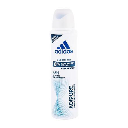 Adidas Adipure 48h deospray bez obsahu hliníku 150 ml pro ženy