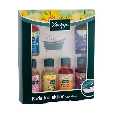 Kneipp Bath Oil sada Anti-stres 20 ml + Mandlové květy 20 ml + Klidná mysl 20 ml + Tajemství krásy 20 ml + Staré dobré časy 20 ml + Meduňka 20 ml unisex