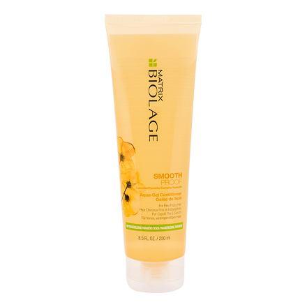 Matrix Biolage SmoothProof Aqua-Gel gelový kondicionér proti krepatění jemných vlasů 250 ml pro ženy