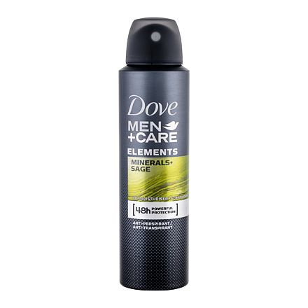 Dove Men + Care Minerals + Sage antiperspirant deospray 150 ml pro muže