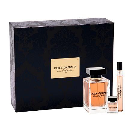 Dolce&Gabbana The Only One sada parfémovaná voda 100 ml + parfémovaná voda 10 ml + parfémovaná voda 7,5 ml pro ženy