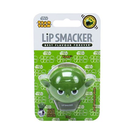 Lip Smacker Star Wars Yoda balzám na rty 7,4 g odstín Jedi Master Mint pro děti