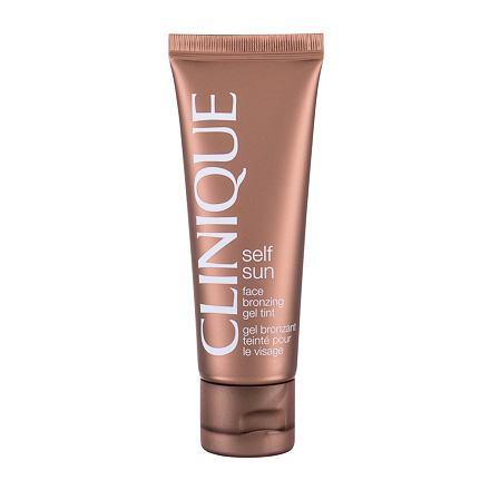 Clinique Self Sun Face Bronzing Gel Tint samoopalovací gel na obličej 50 ml pro ženy