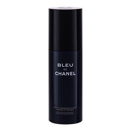 Chanel Bleu de Chanel hydratační krém na obličej a vousy 50 ml pro muže