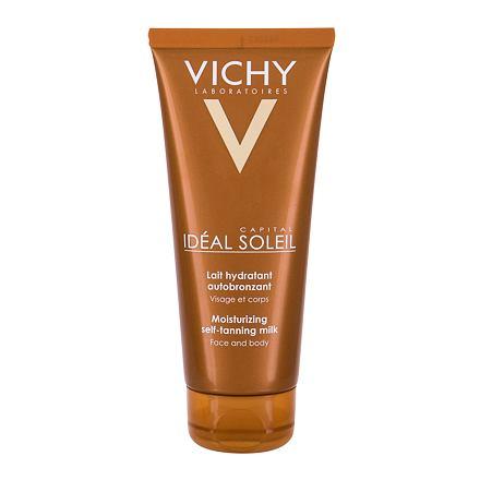 Vichy Idéal Soleil Moisturizing Self-Tanning Milk hydratační samoopalovací mléko na obličej a tělo 1