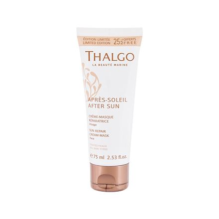Thalgo After Sun Sun Repair Cream-Mask krémová maska pro regeneraci sluncem spálené pokožky 75 ml