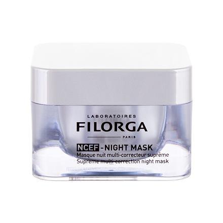 Filorga NCEF Supreme Multi-Correction Night mask noční regenerační pleťová maska proti vráskám 50 ml pro ženy