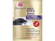 Pleťová maska Dermacol Gold Elixir 16 ml