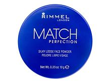 Pudr Rimmel London Match Perfection 10 g 001 Transparent