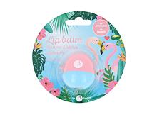 Balzám na rty 2K Animal Lip Balm Flamingo 11 g Cherry