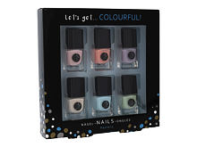Lak na nehty 2K Let´s Get Colourful! Pastels 5 ml Kazeta