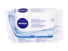 Čisticí ubrousky Nivea Refreshing Cleansing Wipes 3in1 25 ks