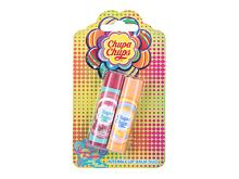 Balzám na rty Chupa Chups Lip Balm Kissable Lip Balm Duo 4 g Juicy Watermelon Kazeta