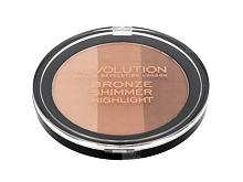Pudr Makeup Revolution London Ultra Bronze, Shimmer And Highlight