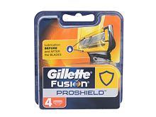 Náhradní břit Gillette Fusion Proshield 4 ks