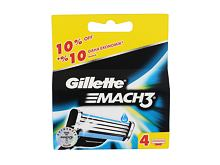 Náhradní břit Gillette Mach3 4 ks