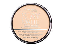 Pudr Rimmel London Stay Matte 14 g 005 Silky Beige