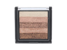 Rozjasňovač Makeup Revolution London Shimmer Brick 7 g Radiant