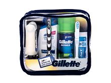 Holicí strojek Gillette Mach3 Travel Kit 1 ks Kazeta