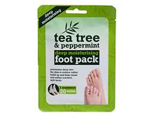Krém na nohy Xpel Tea Tree Tea Tree & Peppermint Deep Moisturising Foot Pack 1 ks
