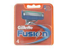 Náhradní břit Gillette Fusion 4 ks