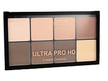 Pudr Makeup Revolution London Ultra Pro HD Cream Contour Palette 20 g Light Medium
