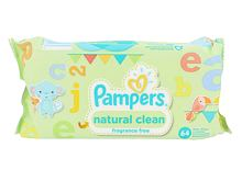 Čisticí ubrousky Pampers Baby Wipes Natural Clean 64 ks